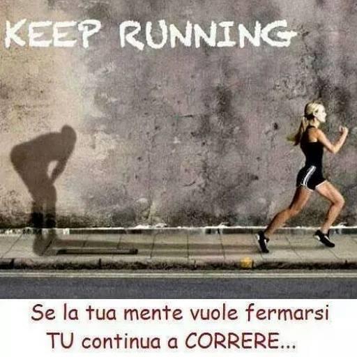Continua a correre…..